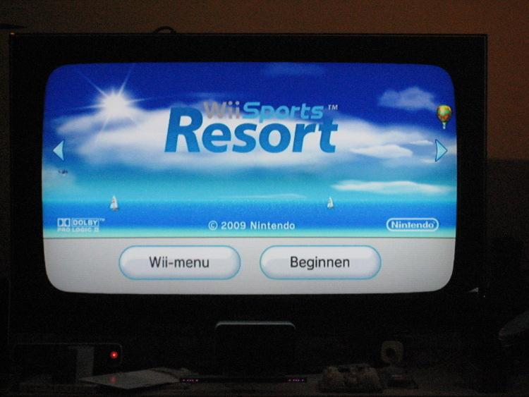 Zwarte Wii